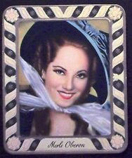 Merle Oberon 1936 Garbaty Passion Film Star Embossed Cigarette Card #145