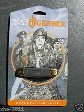 Gerber Bear Grylls Grandfather Knife Hunting Pocket Knife Multi Tool 31-002181