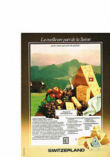 PUBLICITE ADVERTISING   1979   SWITZERLAND   emmenthal  fromage