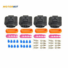 Fits Audi A8 A4 A6 2011-2013 4 Set Ignition Coil Connector Harness Repair Kit