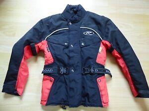 Gepflegte leichte Polo-Road-Motorradjacke für Damen mit Größe 38