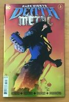 DARK NIGHTS DEATH METAL 3 Capullo Main Foil Cover A  1st Full Robin King DC NM