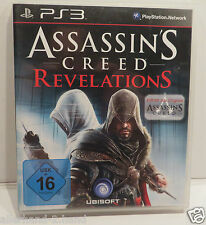 PlayStation3 PS 3 Spiel ASSASSIN`S CREED REVELATIONS USK 16 Blu-ray Disc SPIELEN