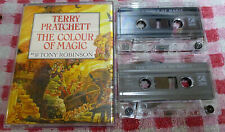 Terry Pratchett - The Colour Of Magic - cassette audiobook read by Tony Robinson