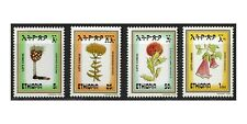 Ethiopia 1984 Local Flowers Set of 4 Stamps Scott 1089/92 Mint Unhinged 9-9