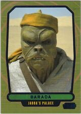 Star Wars Galactic Files Serie 2 blau Parallel #370 Barada 239/350