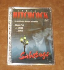 SABOTAGE - DVD - 1936 ALFRED HITCHCOCK B&W SUSPENSE FILM - SEALED