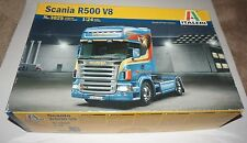 Italeri Scania R500 V8 Tractor Truck Decals for 2 Versions 1/24 #3829 New