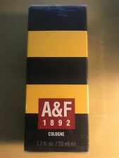 ABERCROMBIE & FITCH 1892 YELLOW A&F 1.7 oz 50 ml COLOGNE SPRAY MEN NEW SEALED!