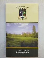 Hirsel Coldstream Écossais Bordures Golf Plat GUIDE.2005 Premier Plan.new