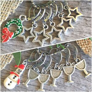 Set of 6 Knitting Crochet Stitch Markers Progress Keepers Planner Charm Gift