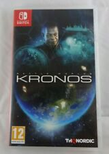 BOX ONLY - Battle Worlds Kronos - Switch