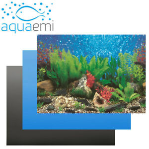 Aquarium Background Single-sided Picture Poster Sticker Fish Tank Paper