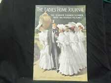1908 JUNE LADIES' HOME JOURNAL MAGAZINE - GREAT ILLUSTRATIONS & ADS - ST 1677