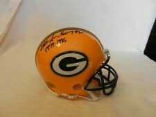Eddie Lee Ivery #40 1979-1986 Green Bay Packers Signed Mini Helmet