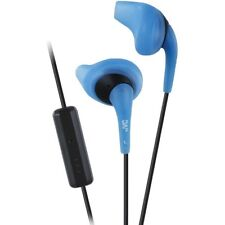 JVC HAENR15A Gumy Sports Earbuds with Microphone (Blue), Secure & comfortable