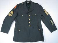 Vintage US Army Vietnam Tropical AG-344  DSA-100-67-C-0975 Uniform Jacket 44R