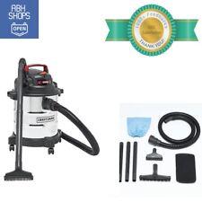 Craftsman Vacuum Cleaner 5 Gallon 3 Hp Blower Stainless Steel Vacuum Wet Dry Kit