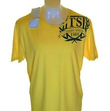 Bnwt Authentic Men's Teddy Smith T Shirt XXL Trudged Yellow New 2xl