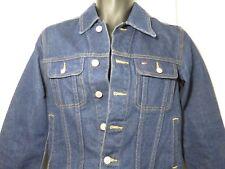 Vintage 90s Small Tommy Hilfiger Dark Wash Denim Jean Jacket