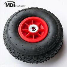 MDI Trolley Wheel - Wheel - Pneumatic 3.00-4 (260x85mm Tyre) Hole 12mm Diameter