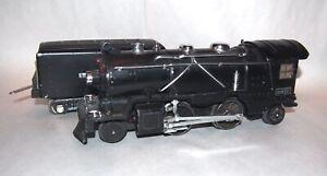 Lionel Prewar O Gauge Satin Black 249E Steam Locomotive & Tender! Scarce! PA