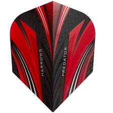 HARROWS PREDATOR STANDARD SHAPE FLIGHTS  RED