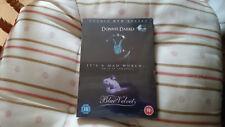 Donnie Darko / Blue Velvet   2003 18 Starring: Jake Gyllenhaal new sealed uk dvd