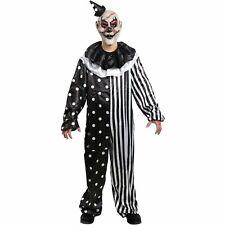 Kill Joy Clown Costume Adult Horror Halloween Scary Killer Circus Clown