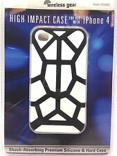 Wireless Gear Apple iPhone 4 Smartphone Protective High Impact Case Shock White
