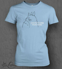 Studio Ghibli T-Shirt LADY FIT My Neighbour Totoro Logo Top Spirited Away Anime