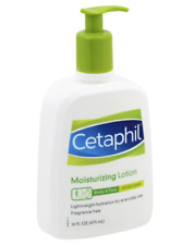 Cetaphil Moisturizing Lotion Unscented 16Oz 473mL -Free Shipping