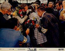 PAUL NEWMAN JOANNE WOODWARD BOB WAGNER INDY CAR RACING WINNING ORIG Photo #X264