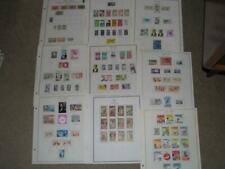 CHAD COLLECTION ON PAGES, USED AND MINT