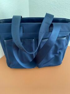 Tote-ally Awesome Tommy Hilfiger Shopper/Bag Navy Blue Nylon