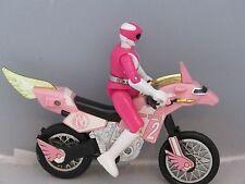 MMPR Pink Ranger Kimberly Thunder Bike  Morphin Power Rangers Bandai 1994