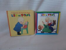 LOT Livres LEO ET POPI édition BAYARD POCHE