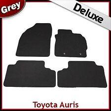 Toyota Auris Mk1 E150 2006-2012 Tailored LUXURY 1300g Carpet Floor Mats GREY