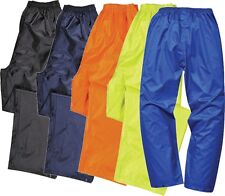 Portwest Lightweight Rain Trousers - S441 Navy XXL S441NARXXL