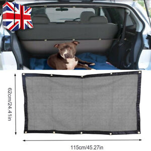 Pets Dog Car Front Seat Barrier Guard Safety Net Van Motorhome Protector Mesh UK