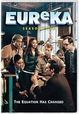 Eureka ~ Complete 4th Fourth Season 4 Four (4.0 & 4.5) BRAND NEW 5-DISC DVD SET