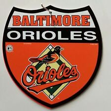 MLB Interstate Sign, Baltimore Orioles, NEW