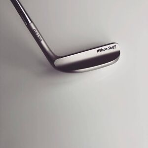 Wilson Staff 8802 Putter Mint Condition - Original Grip And Head Cover