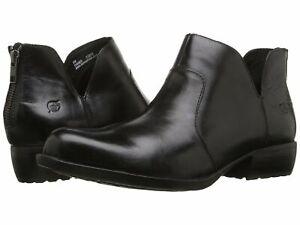 Born Kerri Women's Black Ankle Boots