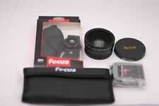 Focus Camera Accessories: Hand Grip, Filter Kit, Memory Card Wallet, Wide Lens
