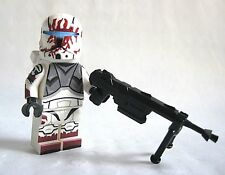 Lego COMMANDO SEV Minifigure -Helmet, Sniper, Custom Printed Body! Clone