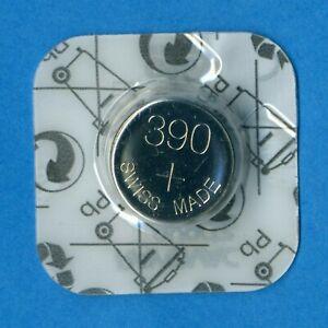 10 x 390 SR1130SW V390 D390 SR54 1.55V Silver Oxide Watch Cell Batteries Rayovac