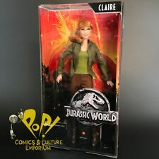 JURASSIC PARK World BARBIE SIGNATURE Ser Doll CLAIRE Bryce Dallas Howard MATTEL!