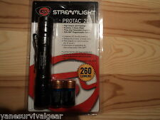 Streamlight Protac 2L LED Flashlight 260 Lumens New With Batteries and Holster