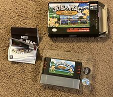 Joe & Mac Collection for Super Nintendo Entertainment System With Box, & Pins.